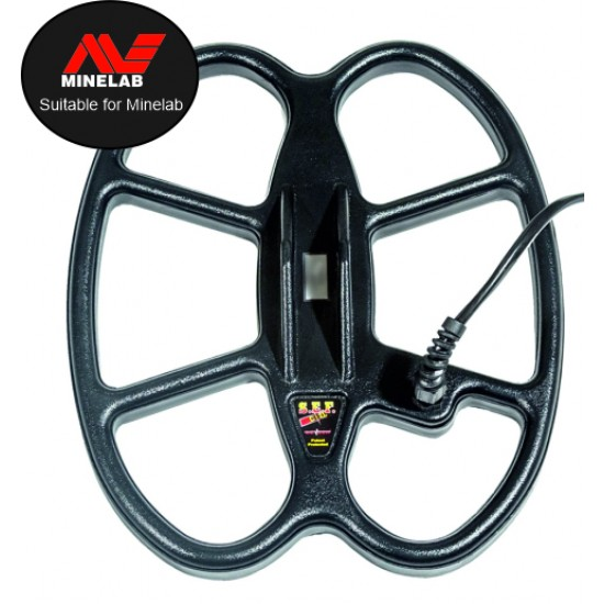 Search coil Detech (Butterfly)12x10 inch S.E.F for Minelab: E-TRAC, Safari, Explorer, Sovereign, Musketeer